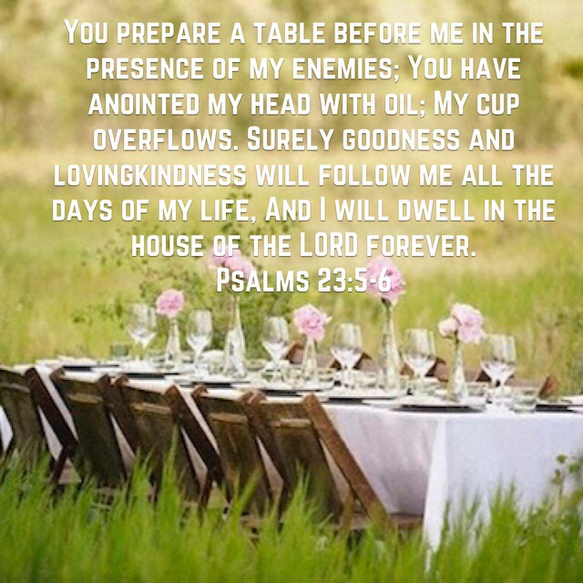 The Table Has Been Set Will You Sit Glory Guides